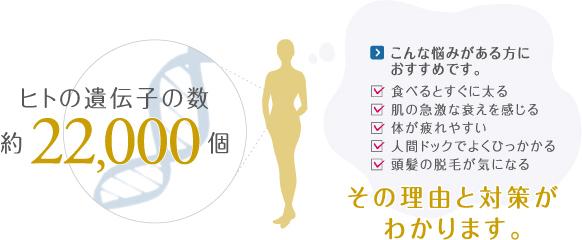 ヒトの遺伝子の数